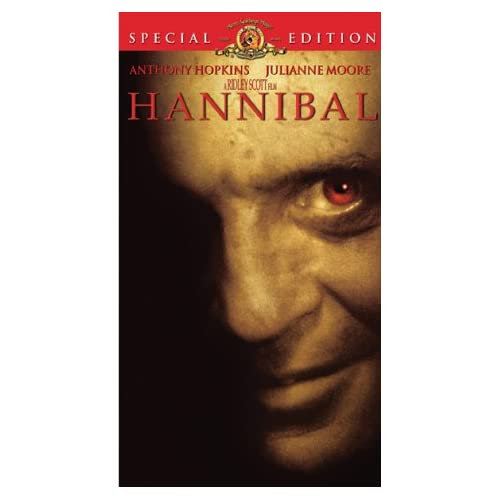 Hannibal On VHS With Anthony Hopkins