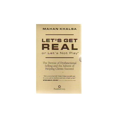 Image 0 of Let's Get Real Or Let's Not Play By Mahan Khalsa On Audio Cassette