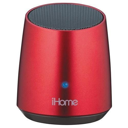 Image 0 of iHome IBT69RC/ IBT69 Red Speaker System 3 W RMS Wireless Speakers Bluetooth USB