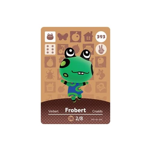 Frobert Nintendo Animal Crossing Happy Home Designer Series 4 Amiibo