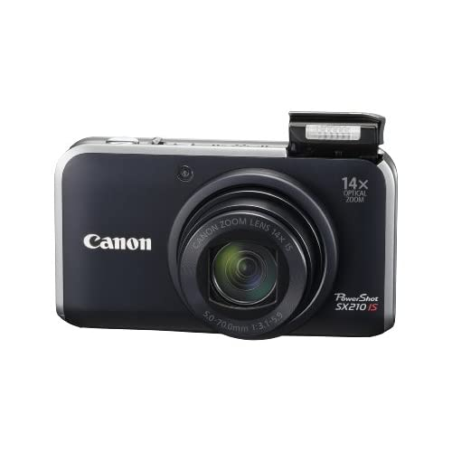 Canon Powershot SX210IS 14.1 MP Digital Camera With 14X Wide Angle Optical Image