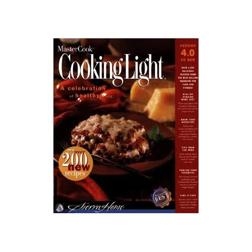 Image 0 of Mastercook Cooking Light 4.0 Software