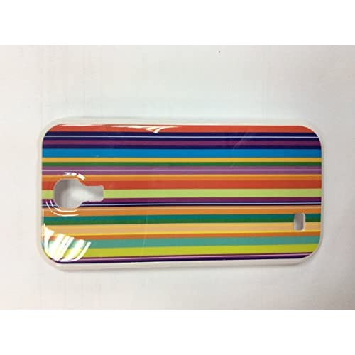 Iconcept Hardshell Case For Samsung Galaxy S4 Rainbow Design