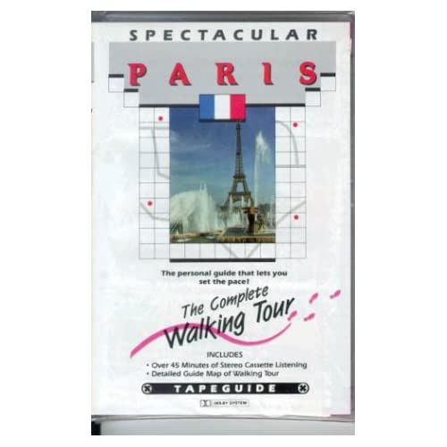 Image 0 of Spectacular Paris Walking Tours By Vocabulearn On Audio Cassette
