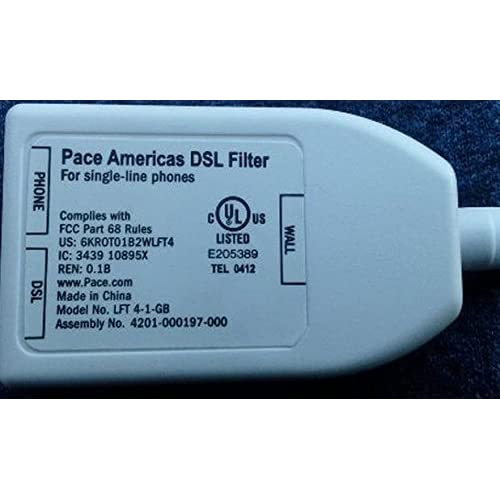Image 0 of Pace Americas DSL Filter