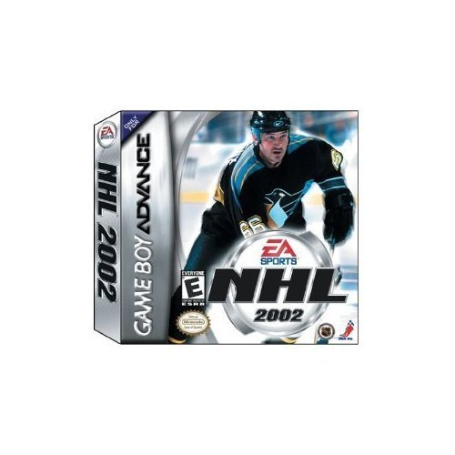 EA Sports NHL 2002 For GBA Gameboy Advance Hockey