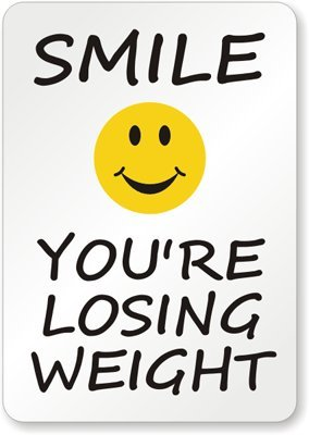 Losing Weight Sign