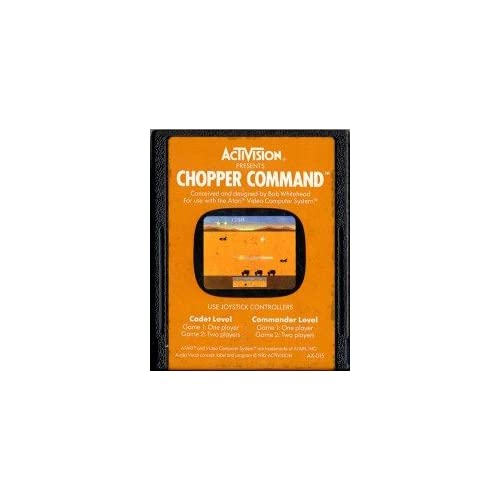 Chopper Command For Atari Vintage Fighting
