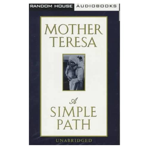 Image 0 of A Simple Path By Mother Teresa Mother Teresa On Audio Cassette