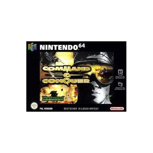 Command And Conquer For N64 Nintendo Strategy