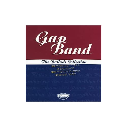 Image 0 of Ballads Collection By Gap Band On Audio CD Album 1998