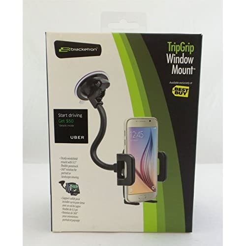 Bracketron Tripgrip Car Window Mount For Mobile Phones Black BT1-666-2