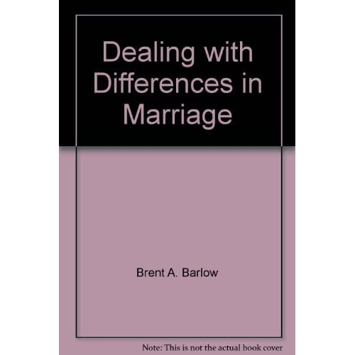 Image 0 of Dealing With Differences In Marriage By Brent A Barlow On Audio Cassette