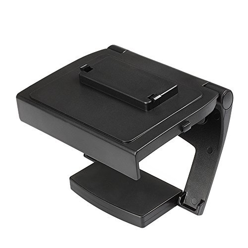 Image 0 of Tnp TV Mounting Clip Black Plastic Adjustable Sensor Camera TV Clip Monitor Moun