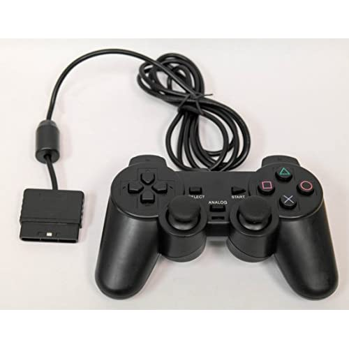 Image 0 of Wired Replacement Controller By Mars Devices PS2 Gamepad For PlayStation 2