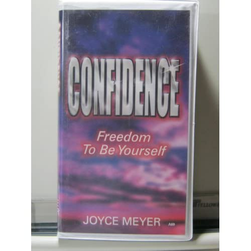 Image 0 of Confidence: Freedom To Be Yourself By Joyce Meyer On Audio Cassette