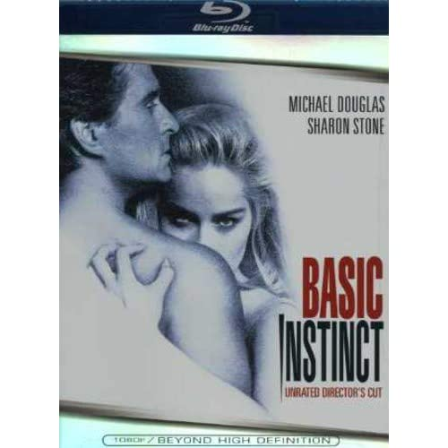 Image 0 of Basic Instinct Unrated Director's Cut Blu-Ray On Blu-Ray With Michael Douglas Dr