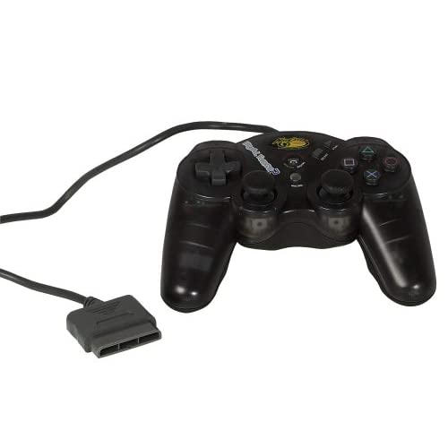 Analog Controller For PlayStation 2 PS2 Black Gamepad 8206