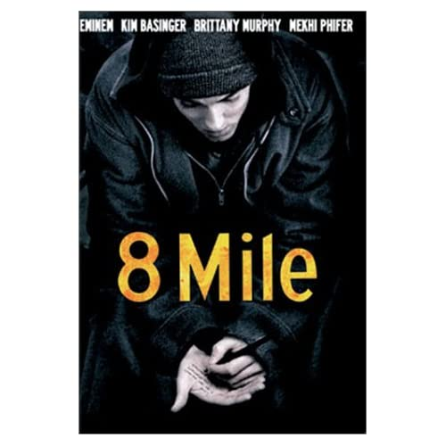 8 Mile Widescreen Edition On DVD With Eminem Drama