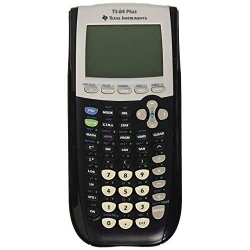 Image 0 of Texas Instruments TI-84 Plus Graphics Calculator Black Handheld Graphing TI84