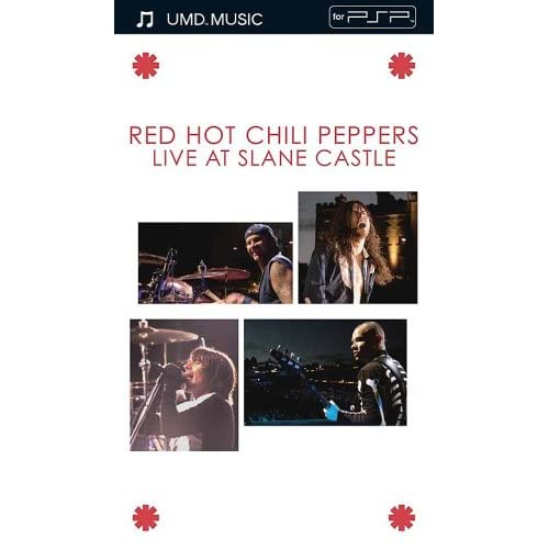 Image 0 of Red Hot Chili Peppers Live At Slane C UMD Universal Media Disc For PSP