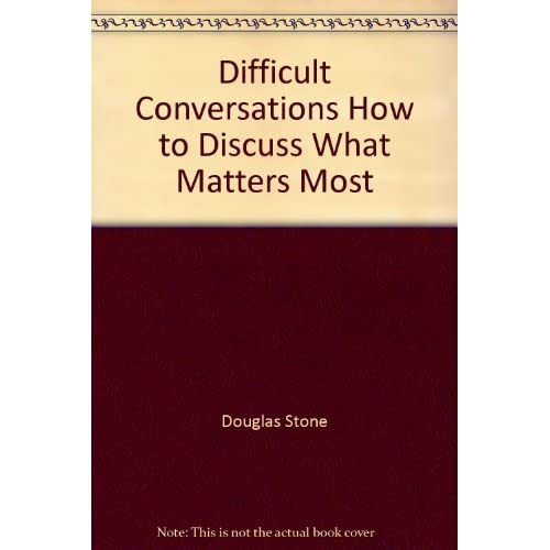 Image 0 of Difficult Conversations How To Discuss What Matters Most On Audio Cassette