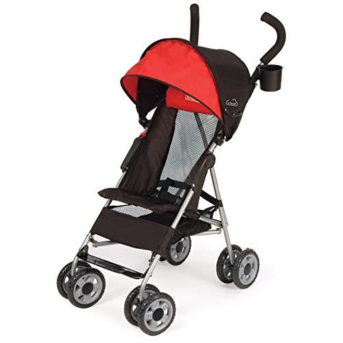 Kolcraft Cloud Umbrella Stroller Scarlett Red Multi-Color