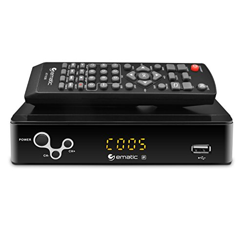 Digital Converter Ematic Digital TV Converter Box With Recording Playback And Pa