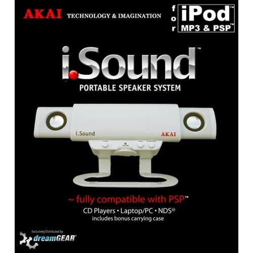 Image 0 of Akai iSound Portable Speakers For PSP UMD