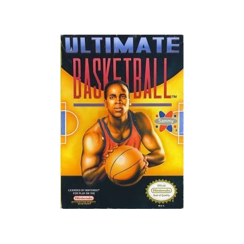 Image 0 of Ultimate Basketball For Nintendo NES Vintage Puzzle Games