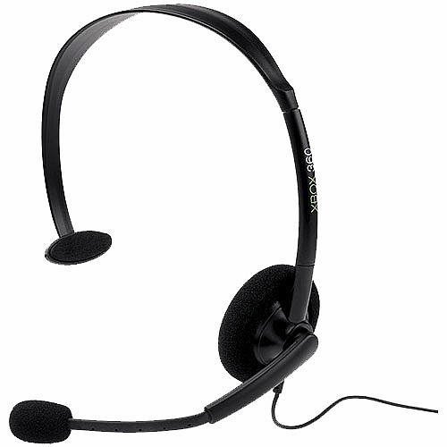 Image 0 of Xbox 360 Headset Wired Black Age Microsoft