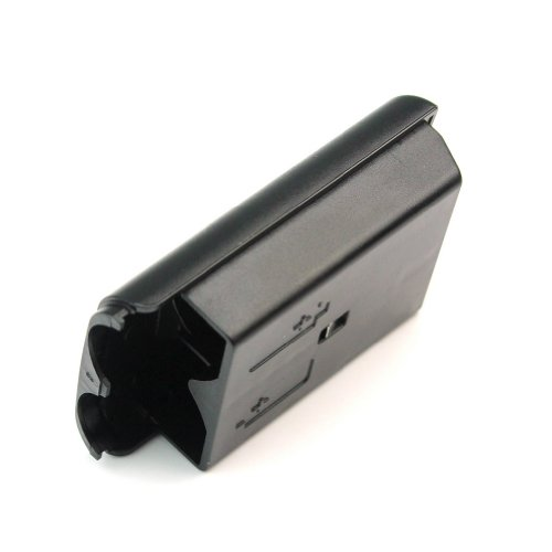 Image 3 of Black Battery Pack Cover Controller For Xbox 360