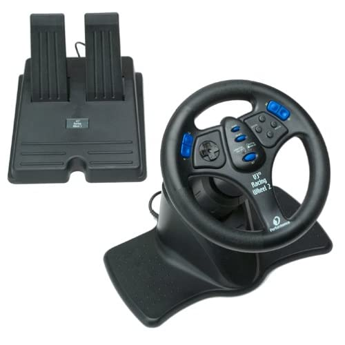 Image 0 of V3FX Racing Wheel 2 For PlayStation 2 PS2