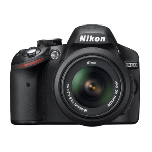 Image 0 of Nikon D3200 24.2 MP CMOS Digital SLR With 18-55MM F/3.5-5.6 Auto Focus-S DX VR N