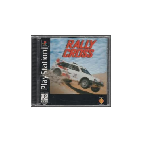 Rally Cross Playstation For Playstation 1 Ps1 Racing