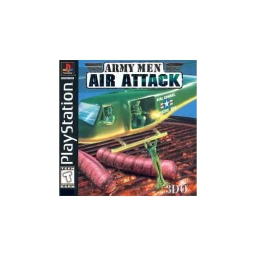 Army Men Air Attack For PlayStation 1 PS1 With Manual and Case