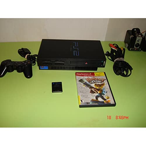 PS2 Phat Console Black With One Game