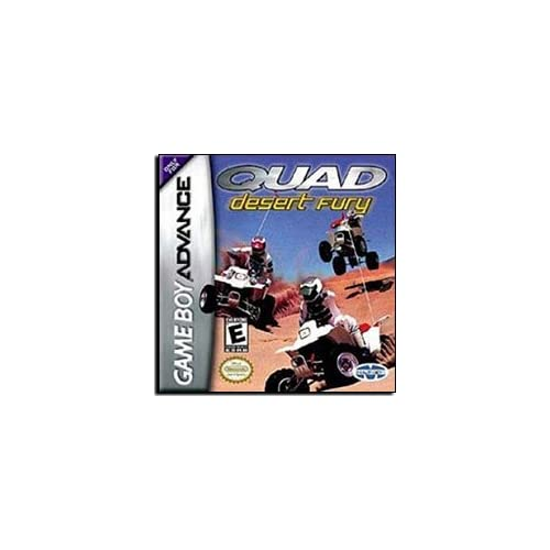 Quad Desert Fury ATV GBA Action For GBA Gameboy Advance