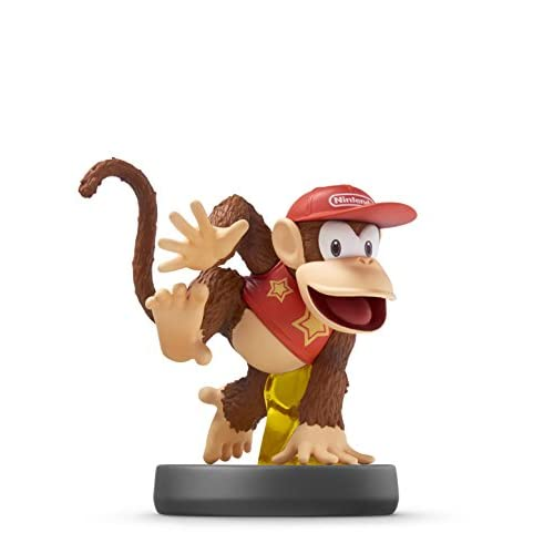 Image 0 of Diddy Kong Amiibo Super Smash Bros Series For Wii U Figure