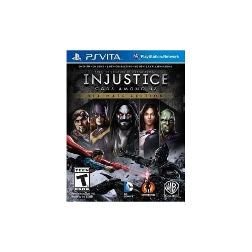 Image 0 of Injustice: Gods Among US Ultimate Edition PlayStation Vita Standard Edition For