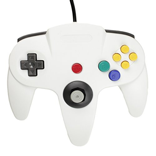 Image 1 of Replacement Controller White For Nintendo 64 By Mars Device