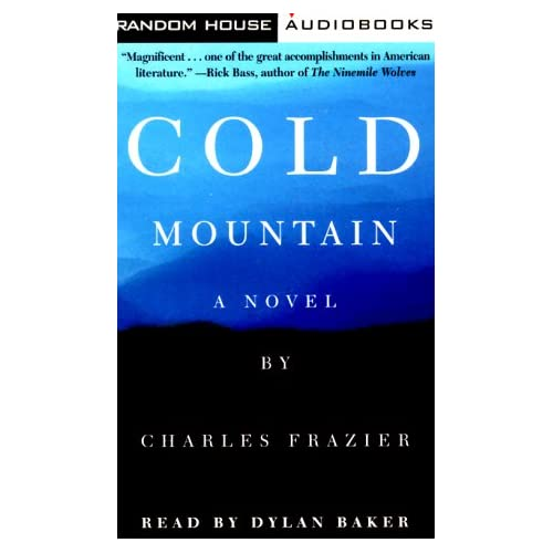 Image 0 of Cold Mountain Abridged By Frazier Charles Baker Dylan Reader On Audio Cassette