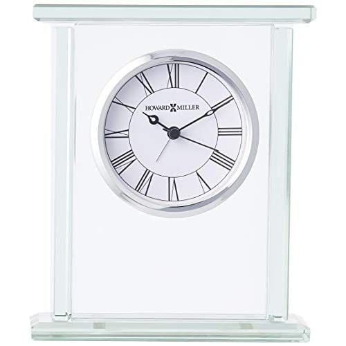 Image 0 of Howard Miller 645-643 Cooper Table Clock Alarm Standard White BJN568