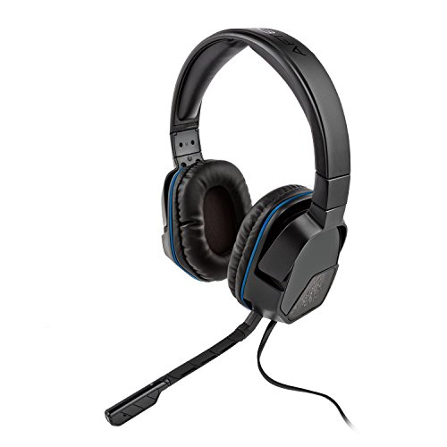 PDP Sony Afterglow Lvl 3 Stereo Gaming Headset 051-032 Black For PlayStation 4 P