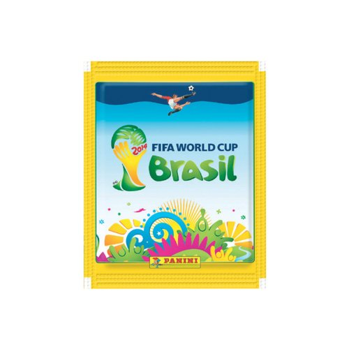 World Cup Soccer 2014 Panini STICKERS5 Pack