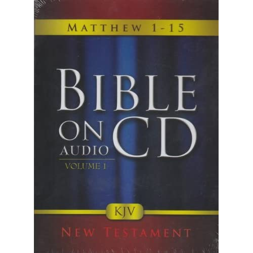 Image 0 of Bible On Audio CD Volume 1: Matthew 1-15 New Testament On Audiobook CD