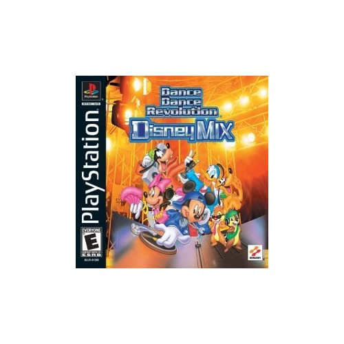Image 0 of Dance Dance Revolution: Disney Mix For PlayStation 1 PS1