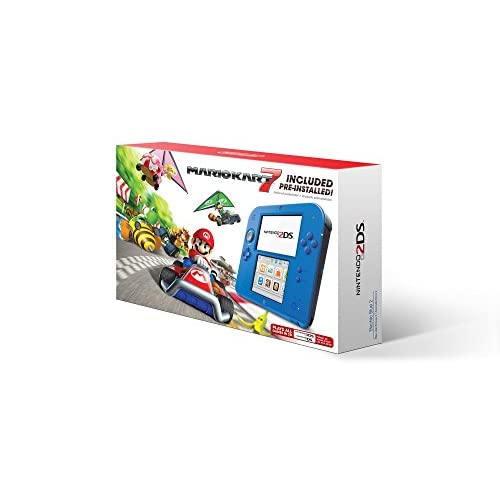 Nintendo 2DS Electric Blue Renewed