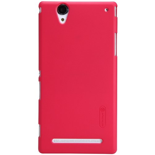 Image 0 of Red Case Cover Screen Protector Dust Cleaning Film Stylus Pen For Sony XM50 Xper