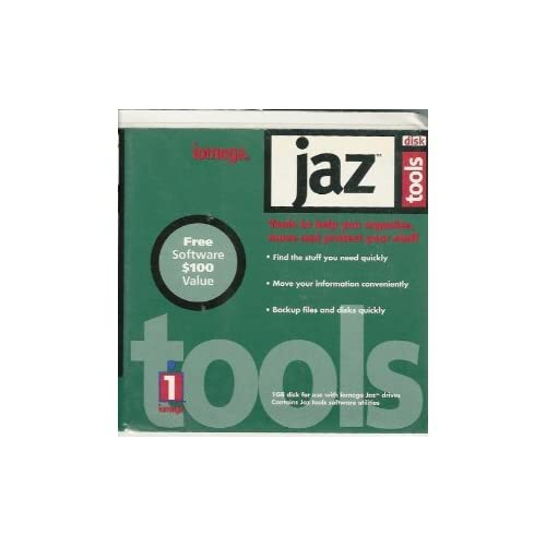 Image 0 of Jaz Tools Disc Drive by Iomega